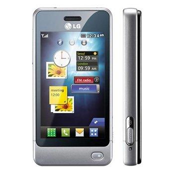 LG GD510 Pop GSM Quadband Phone (Unlocked) Silver.