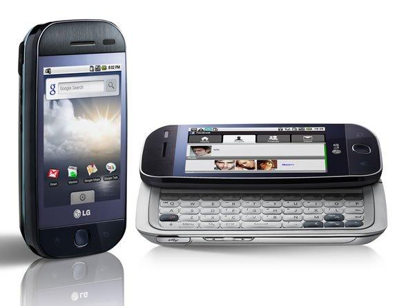 LG GW620 Etna Touch Screen GSM Cell Phone (Unlocked).
