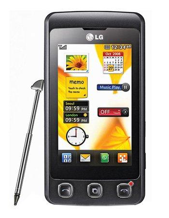 LG KP500 Cookie GSM Quadband Phone (Unlocked) Black.