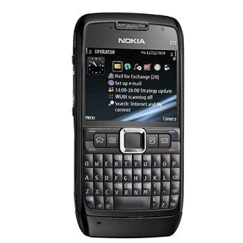 Nokia E71 GSM Quadband Phone (Unlocked) Black.