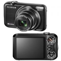 """Fuji-- FinePix JX350--Black--16.0 MegaPixel, 5.0x Wide Angle Zoom/2.7"""" LCD."""
