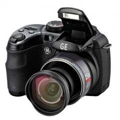 GE X500 Power Pro Series Bridge Camera with Electronic View Finder, and...