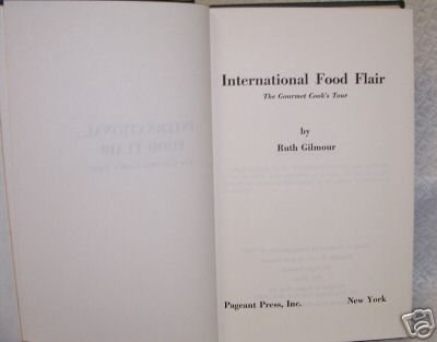 International Food Flair by  Ruth Gilmour