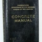 Concrete Manual U.S. Dept of Interior 1939