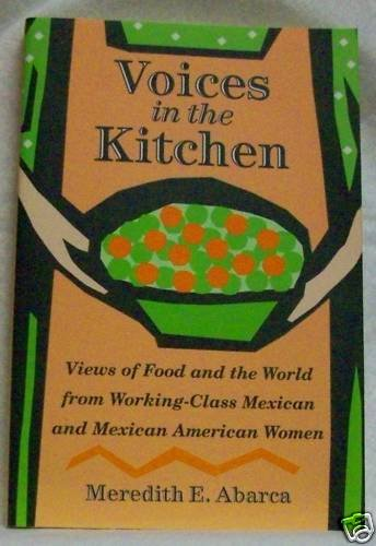 Voices in the Kitchen by Meredith Abarca Signed
