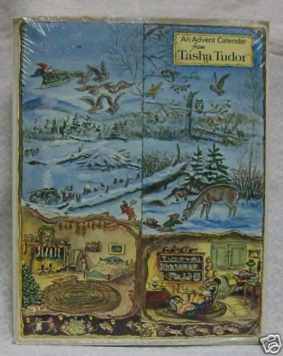 Tasha Tudor's Advent Calendar 1980