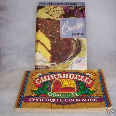 Ghirardelli Chocolate CB and The Chocolate Cook Book