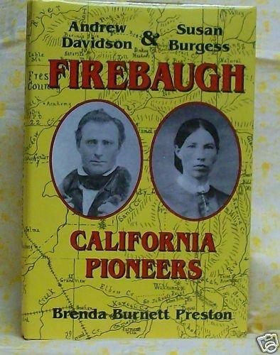 Firebaugh Andrew Davidson and Susan Bugress Firebaugh