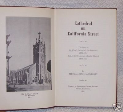 Cathedral on California Street by Thomas McSweeny
