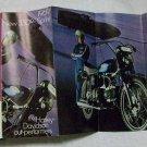Harley Davidson 1969 350CC Sprint Brochuer