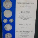 Coin Rarities, Public Auction Schulman Coin