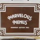 Marvelous Menus SF Peninsula Edition 1980
