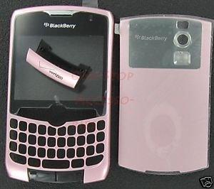 Verizon Original RIM Blackberry Curve 8330 Housing Case Pink