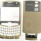 Alltel Gold RIM Blackberry Curve 8330 Full Housing Case