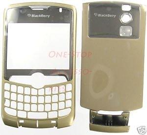 Alltel Gold RIM Blackberry Curve 8330 Full Housing Case