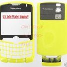 Yellow UnBranded Housing Case RIM BlackBerry 8330 Curve