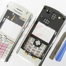 AT&T OEM BlackBerry 8120 8110 Pearl Housing Case White