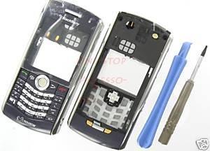 Movistar BlackBerry 8120 Pearl Whole Full Housing Blue