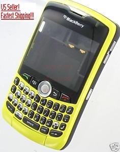 Yellow Full Housing Case CDMA RIM BlackBerry 8330 Curve