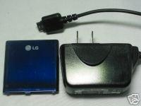 LG OEM AX VX-8600 VX8600 AX8600 Battery+Wall AC Charger