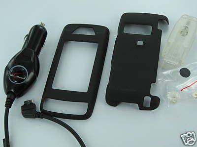 Verizon OEM Car Charger+Snap-On Case For LG VX10000 Voyager