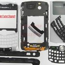 Verizon RIM BlackBerry OEM 8330 Curve Full Housing Case Silver