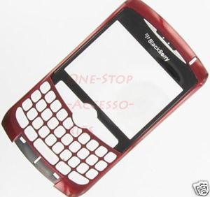 Red AT&T RIM Blackberry Curve 8310 8300 8320 Faceplate