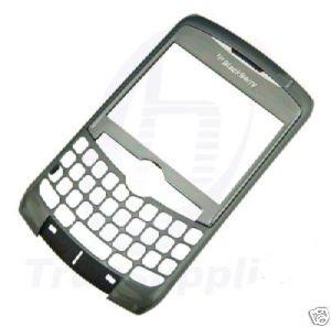 OEM AT&T Blackberry Curve 8310 8300 8320 Faceplate+Lens Titanium