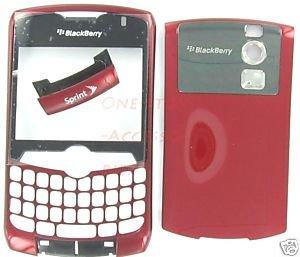 Sprint OEM RIM Blackberry Curve 8330 Full Housing Cover Burgundy