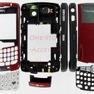 OEM AT&T BlackBerry 8300 8310 8320 Curve Full Housing US Burgundy Red