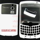 Blackberry Curve 8300 8310 8320 Full Housing Case White