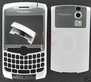 No-Logo OEM RIM BlackBerry 8300 8310 8320 Curve Housing Silver