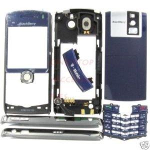 T-Mobile Blue OEM BlackBerry 8100 Pearl Full Housing US
