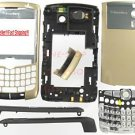No Logo OEM RIM BlackBerry 8300 8310 8320 Curve Full Housing Gold