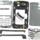 No Logo OEM RIM BlackBerry 8320 8310 8300 Curve Full Housing Grey