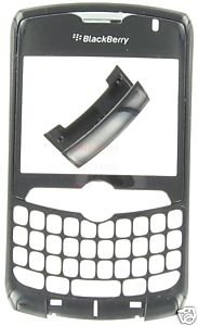 Alltel Blackberry Curve 8330 OEM Faceplate+Bottom Cover Black