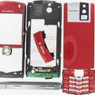 Sunset Red OEM T-Mobile BlackBerry 8100 Pearl Full Housing Case