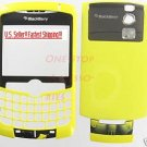 Yellow Rim BlackBerry 8300 8310 8320 Curve Full Housing