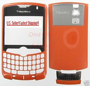 Orange Rim BlackBerry 8300 8310 8320 Curve Full Housing