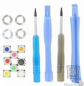 OEM Color Trackball+Tool Set For Nextel Blackberry Curve 8350i