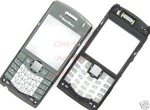 AT&T RIM Blackberry Pearl 8110 8120 OEM Faceplate+Keypad Gray