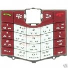 RIM Blackberry Pearl 8110 8120 Original OEM Keypad Red