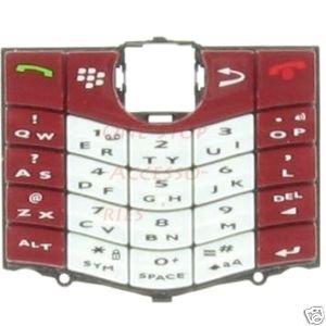 RIM Blackberry Pearl 8110 8120 Original OEM Keypad Red