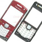 Original Blackberry Pearl 8110 8120 Faceplate+Keypad Red