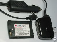 OEM LG Battery+ Travel Home+Auto Car Charger VX9400 VX-9400 SBPP0019901