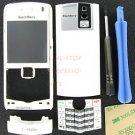 White OEM T-Mobile BlackBerry 8100 Pearl Housing With Keypad+Tool Kit