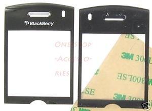 Sprint RIM Blackberry Pearl 8130 Lens LCD Screen Cover Black