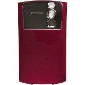 Sprint RIM BlackBerry Curve 8330 Battery Cover Door Burgundy
