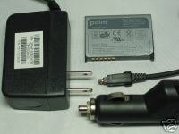 Palm Treo 680 750 750v OEM Battery+AC Home Travel+Auto Car Charger