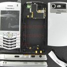 Silver Original BlackBerry 8130 Pearl Complete Full Housing